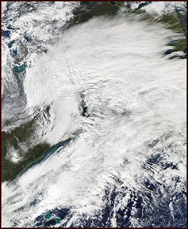 Halloween Nor'easter over Western Mass