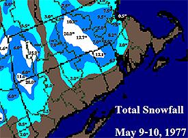 May 10 1977 snowstorm