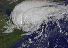 Hurricane Irene over Western Massachusetts